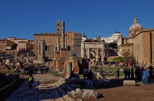 Очереди к достопримечательностям Рима в декабре