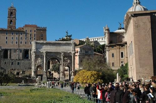 Путешествие в Рим осенью