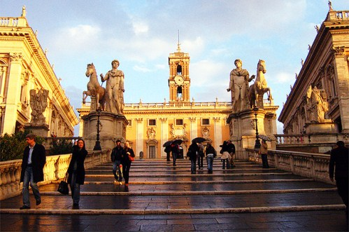 Погода в Риме в ноябре