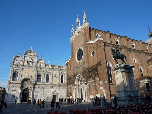 Пешеходная часть экскурсии 3 стихии Венеции