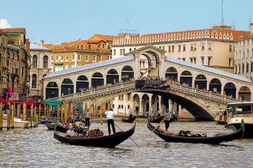 Экскурсии в Венеции на русском, знаменитый Риальто, Италия