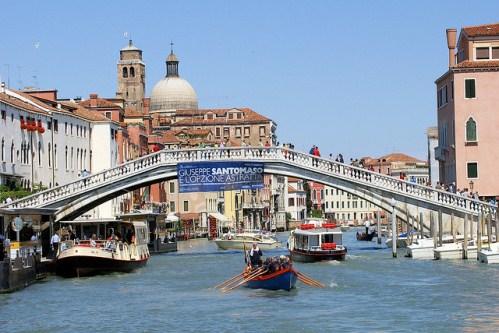 Мост Скальци в Венеции