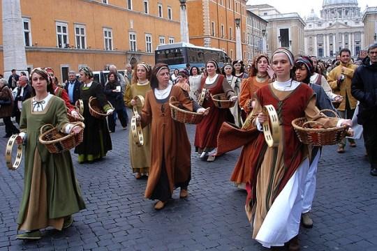 День Святого Валентина в Риме