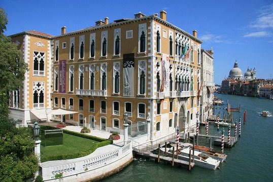 Палаццо Фоскари в Венеции