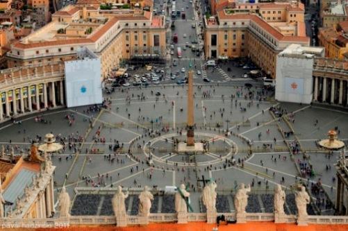 Площадь Святого Петра в Риме