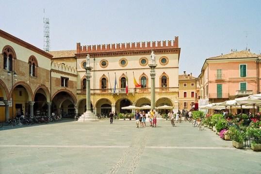 Равенна - город, воспетый Блоком, Байроном и Данте
