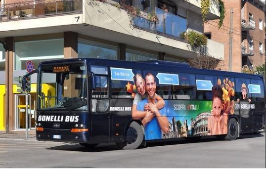Автобус из Римини в Рим