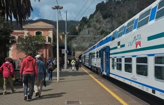 Электрички в Италии