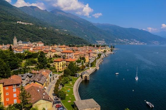 Озеро Маджоре в Италии