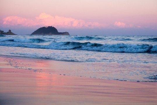 Пляж Алассио в Италии