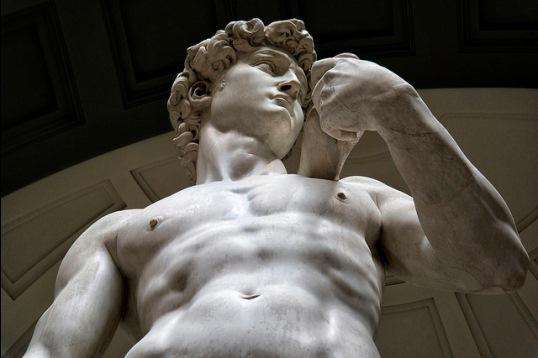Статуя Давида Микеланджело во Флоренции