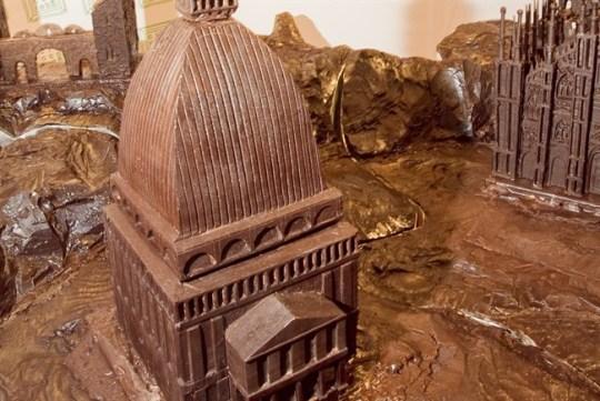 Шоколадные достопримечательности Италии на фестивале в Турине