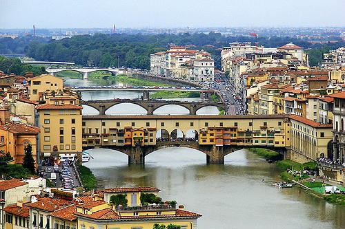 Мост Понте-Веккьо, Флоренция