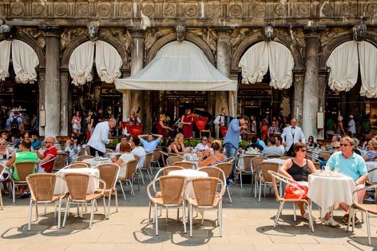 Кафе Флориан на площади Сан Марко