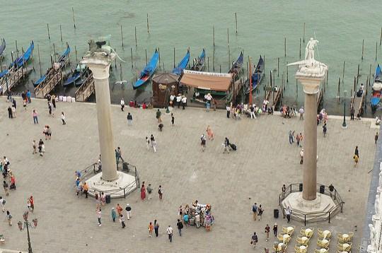 Колонны Святого Марка и Теодора в Венеции