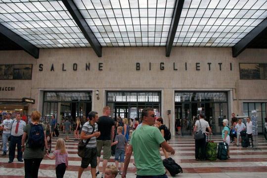 Как добраться из Римини во Флоренцию на поезде