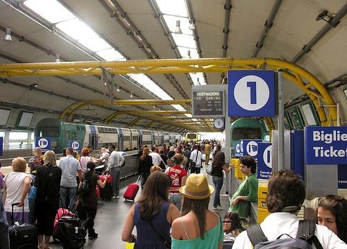 Поезда Леонардо Экспресс из аэропорта Фьюмичино в Рим