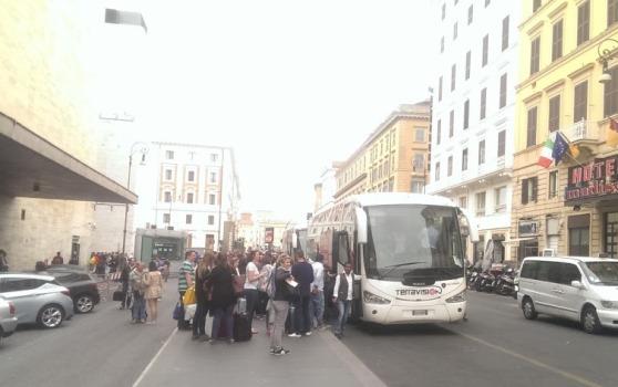 Автобус из аэропорта Фьюмичино в город