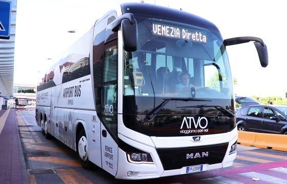 Автобус из аэропорта Марко Поло до Местре