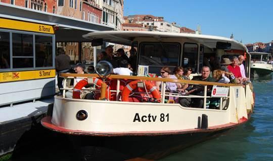 Водные автобусы в Венеции