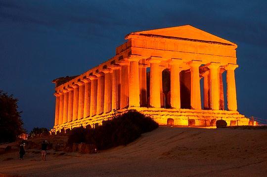 Храм Конкордии, Агридженто