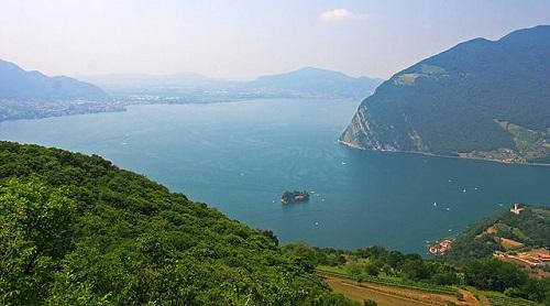 Озеро Изео, Брешия, Италия