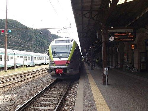 Железнодорожный вокзал в Больцано