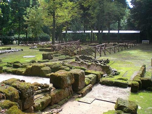 Археологический парк Фратте в Салерно