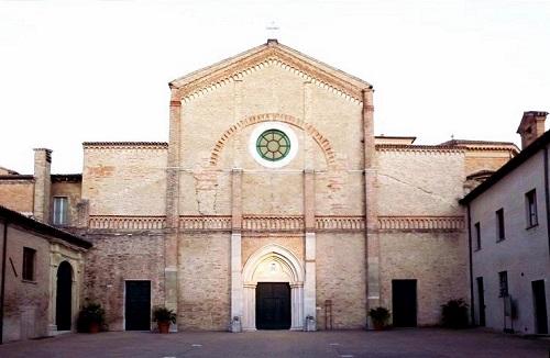 Кафедральный собор города Пезаро в Италии