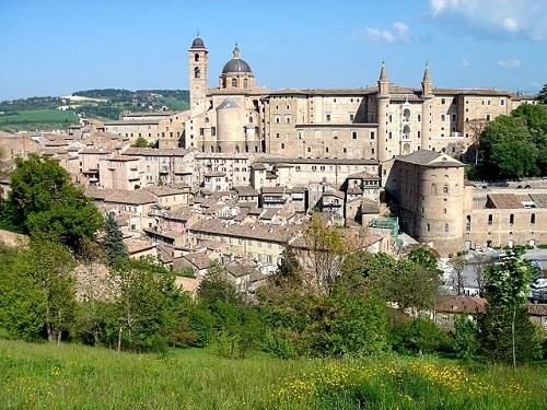 Достопримечательности Урбино в Италии