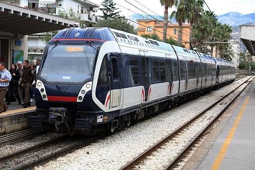 Жд вокзал в Сорренто