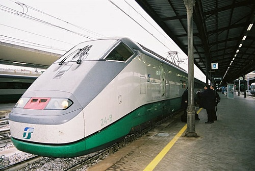 На поезде из Болоньи во Флоренцию