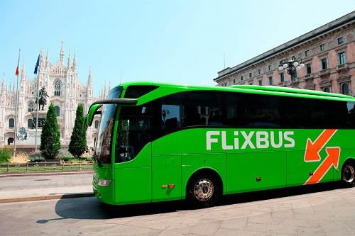 Автобус из Болоньи в Милан