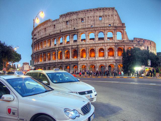 Такси из Болоньи в Рим