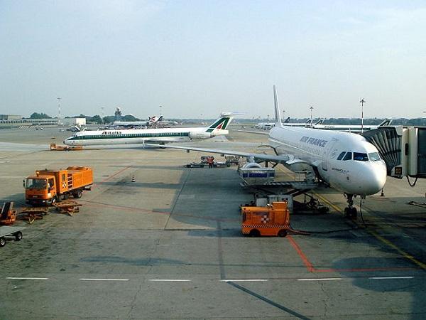 Аэропорт Линате в Милане