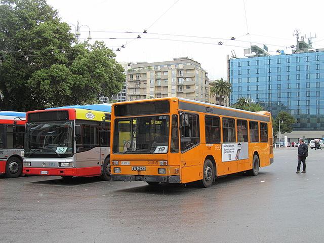 Автобус из аэропорта Бари до центрального жд вокзала