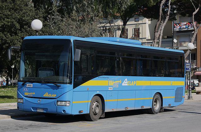 Общественный транспорт в Лукке, Италия