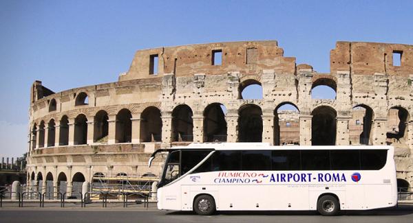 Автобус из аэропорта Чампино в Рим
