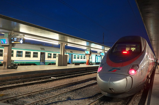 Поезд из Болоньи в Венецию
