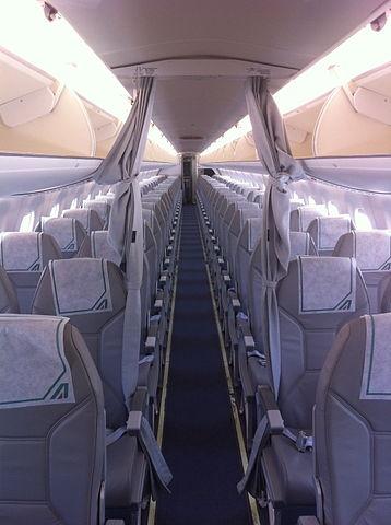 Эконом-класс в самолете Алиталия