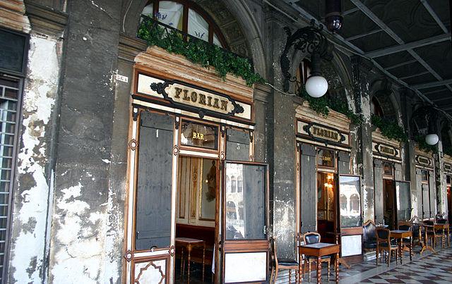 Кафе Флориан в Венеции
