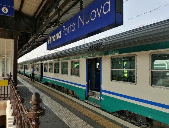 Поезд Верона-Венеция