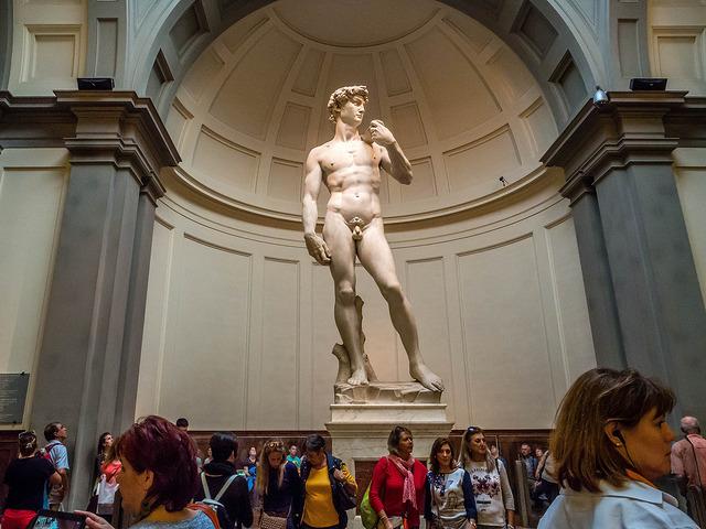 Достопримечательности Флоренции, Галерея Академии, Давид Микеланджело