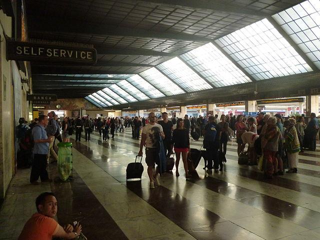 Вокзал Санта-Мария-Новелла во Флоренции