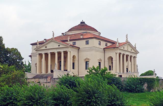 Вилла Ротонда в Винченце, Италия