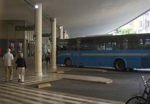 Автовокзал во Флоренции