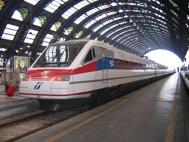 Поезд из Милана в Верону