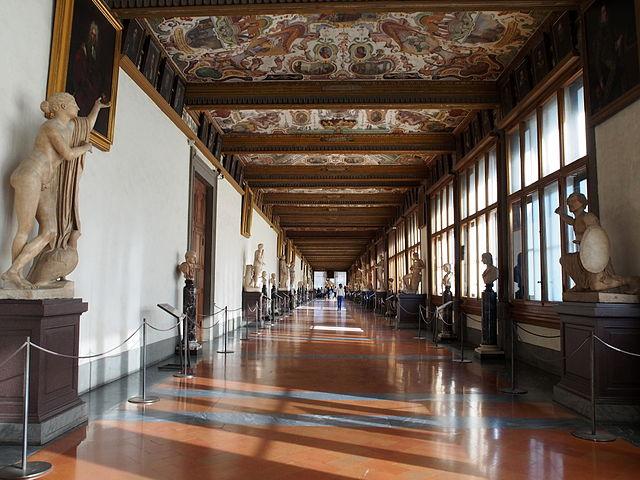 Галерея Уффицы во Флоренции