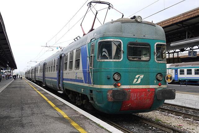 Поезд из Вероны в Венецию