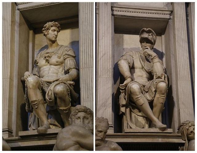 Скульптуры герцогов Медичи